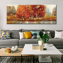 Load image into Gallery viewer, Modern Abstract Landscape Art Craft Painting Hand Painting Print on Canvas Oil Painting for Living Room Home Wall Decoration - SallyHomey Life's Beautiful