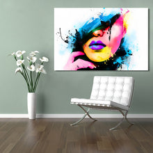 Load image into Gallery viewer, Modern Abstract Posters and Prints Wall Art Canvas Painting Watercolor Women Portrait Decorative Pictures for Living Room Decor - SallyHomey Life's Beautiful