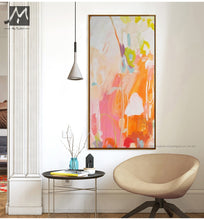 Load image into Gallery viewer, Oil painting on canvas handmade watercolor cuadros decoracion salon moderno nordic decoration home wall pictures for living room - SallyHomey Life's Beautiful