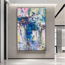 Load image into Gallery viewer, Abstract modern Laminas decorativas pared cuadros handmade canvas painting pictures for home decor for living room decoration - SallyHomey Life's Beautiful