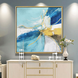 100% Hand Painted Abstract Morden Art Oil Painting On Canvas Wall Art Frameless Picture Decoration For Live Room Home Decor Gift