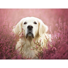 Load image into Gallery viewer, DIY 5D Diamond Painting Animal Diamond Embroidery Golden Retriever Dog Cross Stitch Full Round Drill Picture Mosaic Rhinestone - SallyHomey Life's Beautiful