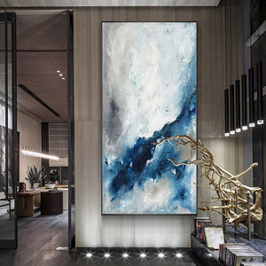 100% Hand Painted Abstract Artist Art Oil Painting On Canvas Wall Art Frameless Picture Decoration For Live Room Home Decor Gift