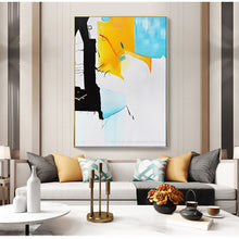 Load image into Gallery viewer, Hand painted canvas oil painting  for living room cuadros decoracion pictures dormitorio lienzos wall art picture modern art - SallyHomey Life's Beautiful