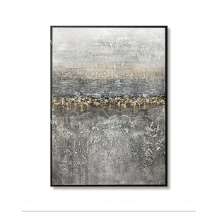 🔥 🔥 100% Hand Painted on canvas abstract landscape wall picture painting for living room Decor