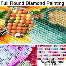 Load image into Gallery viewer, Full Round Drill 5D DIY Diamond Painting Dog Flower Diamond Embroidery Cross Stitch Mosaic Landscape Rhinestones Decor Gift
