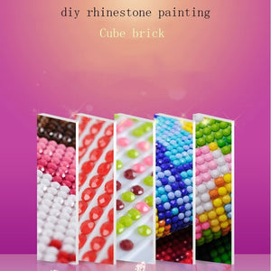 Full Round Drill 5D DIY Diamond Painting Dog Flower Diamond Embroidery Cross Stitch Mosaic Landscape Rhinestones Decor Gift