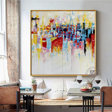 Load image into Gallery viewer, Vintage modern artwork oil painting on canvas handmade NOT PRINTS picture home deco cuadros decoracion dormitorio living room - SallyHomey Life's Beautiful