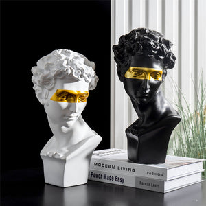 Home Decoration Accessories David People Resin Statue Europe Abstract Sculpture Statues For Decoration Modern Art Home Decorate