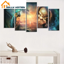 Load image into Gallery viewer, Halloween painting - SallyHomey Life's Beautiful