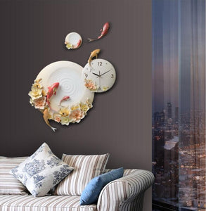 🔥Luxury Personality Embossed Wall Clocks - SallyHomey Life's Beautiful