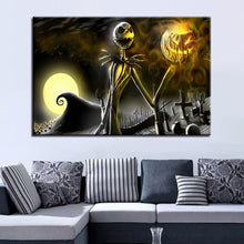 Load image into Gallery viewer, Halloween Canvas Pictures Home Decor - SallyHomey Life's Beautiful
