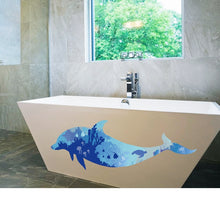 Load image into Gallery viewer, 3D waterproof bathroom wall stickers home decoration large wall pictures for living room - SallyHomey Life's Beautiful