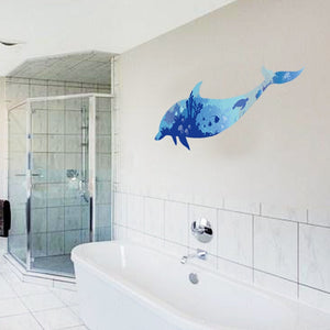 3D waterproof bathroom wall stickers home decoration large wall pictures for living room - SallyHomey Life's Beautiful