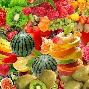 Custom Photo Self Adhesive Wallpaper Murals 3D Fruit Picture Wall Painting Living Room Restaurant Kitchen Decoration Large Mural - SallyHomey Life's Beautiful