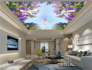 3d Non-woven ceiling - SallyHomey Life's Beautiful