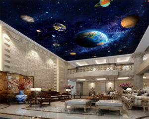 3d ceiling design , wallpaper kids room - SallyHomey Life's Beautiful