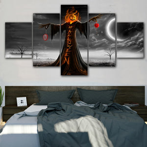 Halloween Holiday Canvas Painting - SallyHomey Life's Beautiful