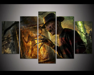 5 Piece Halloween Painting - SallyHomey Life's Beautiful