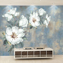Load image into Gallery viewer, 🔥3D Embossed White Flowers Oil Painting - SallyHomey Life's Beautiful