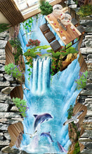 Load image into Gallery viewer, 3D floor painting wall paper - SallyHomey Life's Beautiful