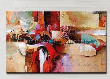 Top Artist Hand-painted High Quality Modern Abstract Sexy Girl Oil Painting On Canvas Nude Sex Oil Painting For Wall Decoration - SallyHomey Life's Beautiful