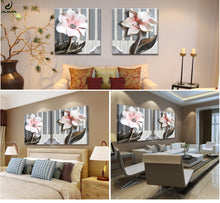Load image into Gallery viewer, Wall Art 3D- Lotus canvas painting - SallyHomey Life's Beautiful