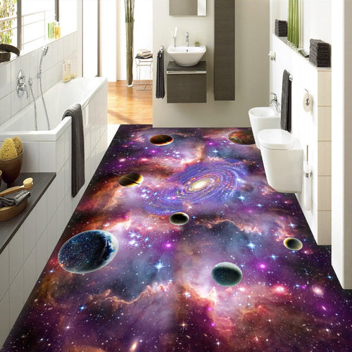 Sky Galaxy Floor - SallyHomey Life's Beautiful