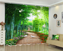 Load image into Gallery viewer, 🔥Forest scenery Window Blackout Luxury - SallyHomey Life's Beautiful