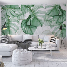 Load image into Gallery viewer, Tropical Plant Wall Painting - SallyHomey Life's Beautiful