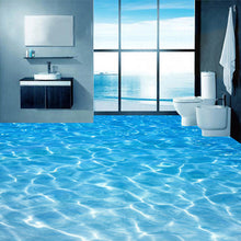 Load image into Gallery viewer, Sea- Water 3D Floor - SallyHomey Life's Beautiful