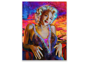 🔥Marilyn Monroe oil painting- Hand Painted. - SallyHomey Life's Beautiful