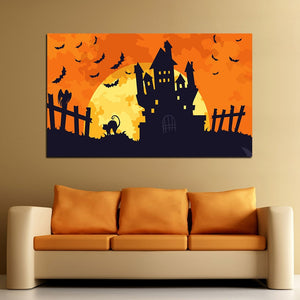 Halloween Castle Home Decoration - SallyHomey Life's Beautiful