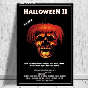 Halloween Wall Art Canvas Painting Posters and Prints - SallyHomey Life's Beautiful