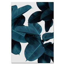 Load image into Gallery viewer, Wall Pictures for Living Room Leaf Cuadros Picture Nordic Poster Floral Wall Art Canvas Painting Botanical Posters and Prints - SallyHomey Life's Beautiful