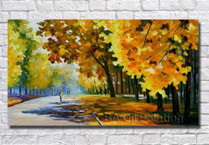 🔥Modern Knife Oil Painting On Canvas Abstract - SallyHomey Life's Beautiful