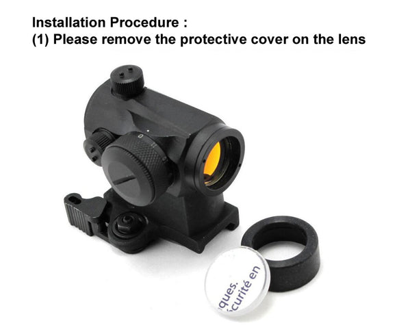 Wii Tech - BB Proof Lens Cover for Aimpoint Red Dot Sight - 04034