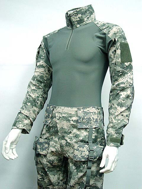 Emerson Combat Shirt Uniform w/Built in Elbow Pads Gen I in ACU