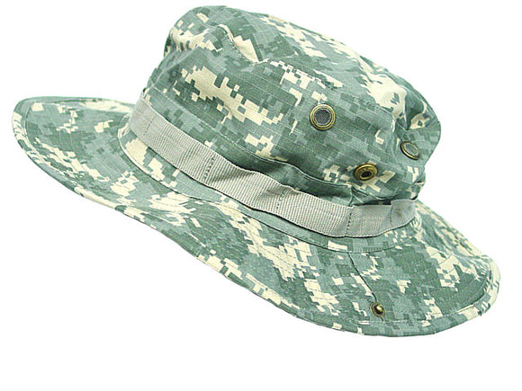 MIL-SPEC Boonie Hat Army Digital ACU Camo - Medium