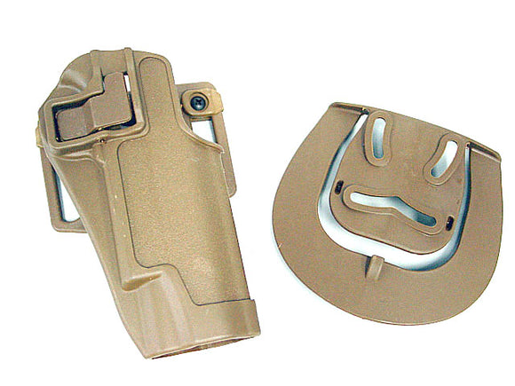 SERPA CQC Tactical Belt Holster for Colt 1911/M1911- Tan