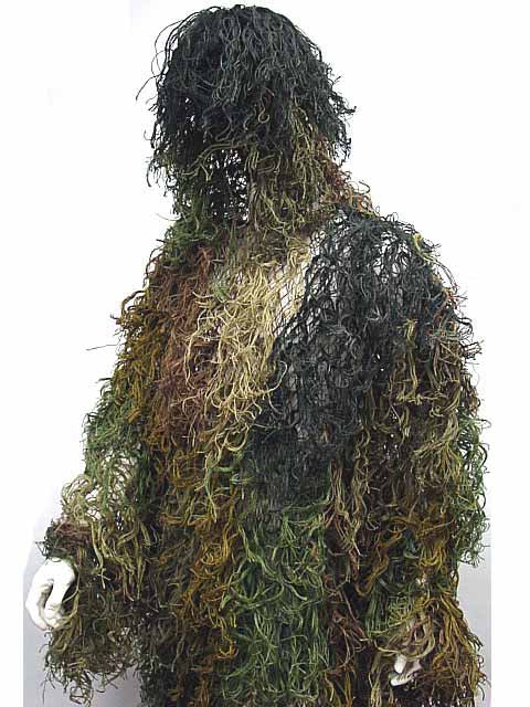 Airsoft Ghillie Suit Mossy Camo Woodland