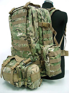 USMC Tactical Molle Assault 3 Days Backpack - MC