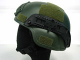 MICH TC-2000 ACH Helmet (with NVG Mount & Side Rail) - OD