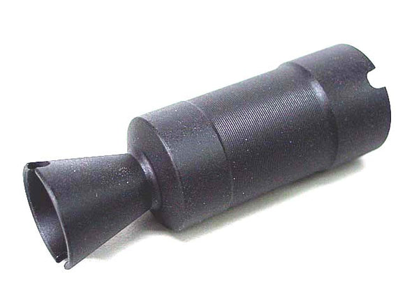 APS - AK74U Metal Muzzle Flash Hider (14mm CCW) for AK AEG Series