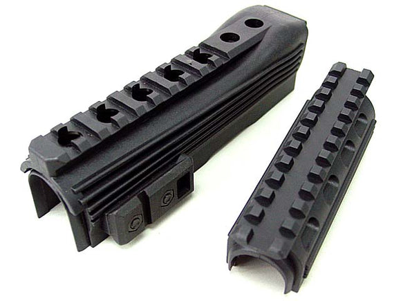 APS - Plastic Tactical Hand Rail for AK74 AEG Series - APS-EE019-B