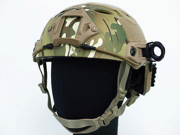 Airsoft FAST Carbon Style Helmet - Multicam