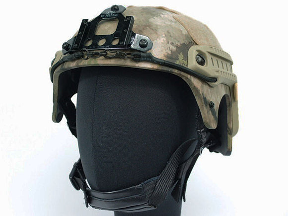 Integrated Ballistic Helmet (IBH) w/ NVG Mount and Side Rail-ATACS