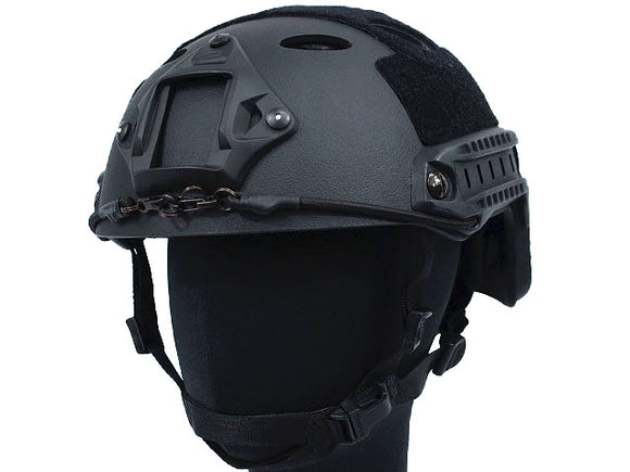 Airsoft FAST Carbon Style Helmet - Black
