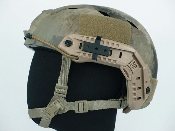 FAST Base Jump Type Helmet with Rail - ATACS