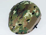 FAST Base Jump Type Helmet with Rail - Multicam